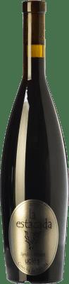 8,95 € Kostenloser Versand | Rotwein Finca La Estacada Syrah-Merlot Cosecha de Familia Joven D.O. Uclés Kastilien-La Mancha Spanien Merlot, Syrah Flasche 75 cl