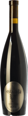 8,95 € Envío gratis | Vino tinto Finca La Estacada Syrah-Merlot Cosecha de Familia Joven D.O. Uclés Castilla la Mancha España Merlot, Syrah Botella 75 cl