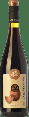 7,95 € Envoi gratuit | Vin rouge Finca La Estacada Hello World Joven I.G.P. Vino de la Tierra de Castilla Castilla La Mancha Espagne Cabernet Franc Bouteille 75 cl