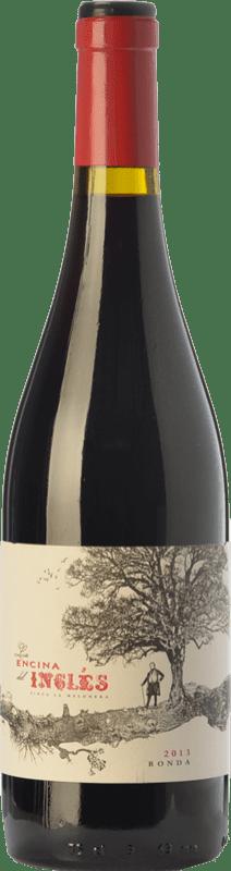 12,95 € Free Shipping | Red wine Finca La Melonera La Encina del Inglés Joven D.O. Sierras de Málaga Andalusia Spain Syrah, Grenache Bottle 75 cl