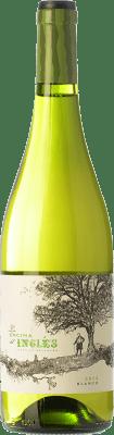 8,95 € Envío gratis | Vino blanco Finca La Melonera La Encina del Inglés D.O. Sierras de Málaga Andalucía España Moscatel Grano Menudo, Pedro Ximénez, Doradilla Botella 75 cl