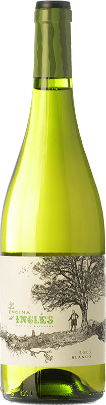 8,95 € Free Shipping | White wine Finca La Melonera La Encina del Inglés D.O. Sierras de Málaga Andalusia Spain Muscatel Small Grain, Pedro Ximénez, Doradilla Bottle 75 cl