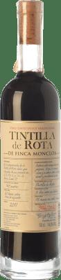 42,95 € Envío gratis | Vino dulce Finca Moncloa I.G.P. Vino de la Tierra de Cádiz Andalucía España Tintilla de Rota Media Botella 50 cl