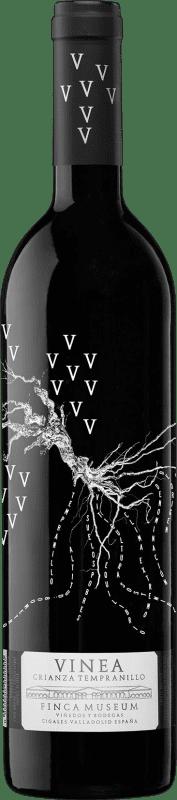 7,95 € Envoi gratuit | Vin rouge Museum Vinea Crianza D.O. Cigales Castille et Leon Espagne Tempranillo Bouteille 75 cl