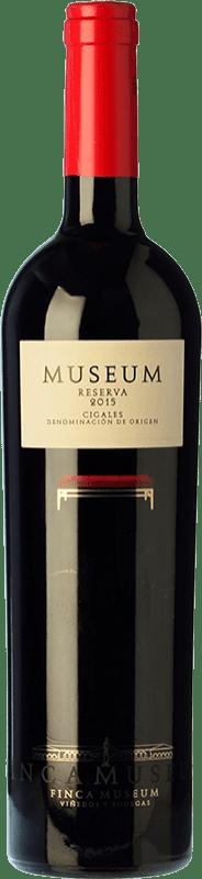 11,95 € Envío gratis | Vino tinto Museum Reserva D.O. Cigales Castilla y León España Tempranillo Botella 75 cl