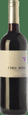 7,95 € Envío gratis | Vino tinto Finca Nueva Joven D.O.Ca. Rioja La Rioja España Tempranillo Botella 75 cl