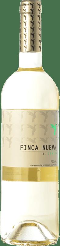 7,95 € Envío gratis | Vino blanco Finca Nueva D.O.Ca. Rioja La Rioja España Viura Botella 75 cl