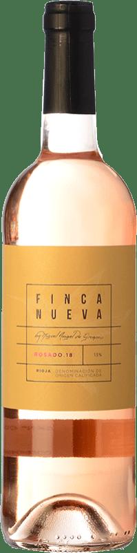 5,95 € Envío gratis | Vino rosado Finca Nueva D.O.Ca. Rioja La Rioja España Tempranillo, Garnacha Botella 75 cl