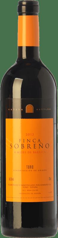 5,95 € Free Shipping | Red wine Finca Sobreño Roble D.O. Toro Castilla y León Spain Tinta de Toro Bottle 75 cl