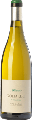 31,95 € Envoi gratuit | Vin blanc Forjas del Salnés Goliardo A Telleira Crianza D.O. Rías Baixas Galice Espagne Albariño Bouteille 75 cl