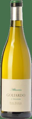 31,95 € Kostenloser Versand | Weißwein Forjas del Salnés Goliardo A Telleira Crianza D.O. Rías Baixas Galizien Spanien Albariño Flasche 75 cl
