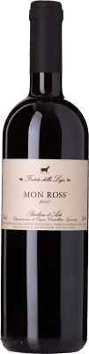 13,95 € Free Shipping | Red wine Forteto della Luja Mon Ross D.O.C. Barbera d'Asti Piemonte Italy Barbera Bottle 75 cl