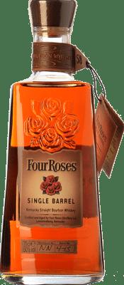 36,95 € Envío gratis | Bourbon Four Roses Single Barrel Kentucky Estados Unidos Botella 70 cl