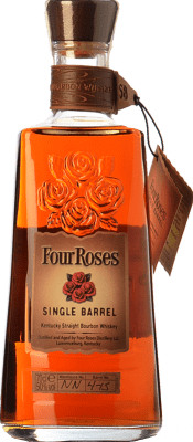 43,95 € Free Shipping | Bourbon Four Roses Single Barrel Kentucky United States Bottle 70 cl