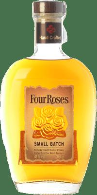 26,95 € Envío gratis | Bourbon Four Roses Smallbatch Kentucky Estados Unidos Botella 70 cl
