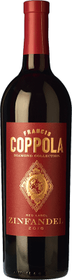 21,95 € Free Shipping | Red wine Francis Ford Coppola Diamond Zinfandel Crianza I.G. California California United States Petite Syrah, Zinfandel Bottle 75 cl