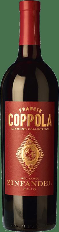 21,95 € Envoi gratuit | Vin rouge Francis Ford Coppola Diamond Zinfandel Crianza I.G. California Californie États Unis Petite Syrah, Zinfandel Bouteille 75 cl