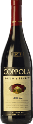 16,95 € Free Shipping | Red wine Francis Ford Coppola Rosso & Bianco Shiraz Crianza I.G. California California United States Syrah, Petite Syrah Bottle 75 cl