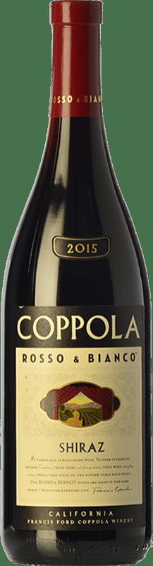 16,95 € Envoi gratuit | Vin rouge Francis Ford Coppola Rosso & Bianco Shiraz Crianza I.G. California Californie États Unis Syrah, Petite Syrah Bouteille 75 cl