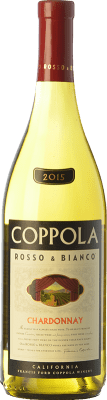 16,95 € Free Shipping | White wine Francis Ford Coppola Rosso & Bianco Chardonnay I.G. California California United States Chardonnay, Pinot Grey Bottle 75 cl