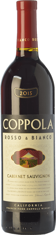 16,95 € Free Shipping | Red wine Francis Ford Coppola Rosso & Bianco Crianza I.G. California California United States Cabernet Sauvignon Bottle 75 cl