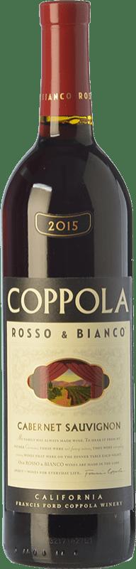 16,95 € Envoi gratuit | Vin rouge Francis Ford Coppola Rosso & Bianco Crianza I.G. California Californie États Unis Cabernet Sauvignon Bouteille 75 cl