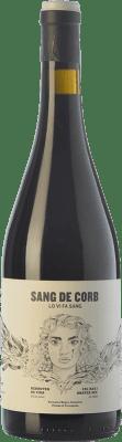19,95 € Free Shipping | Red wine Frisach Sang de Corb Negre Crianza D.O. Terra Alta Catalonia Spain Grenache, Carignan, Grenache Hairy Bottle 75 cl