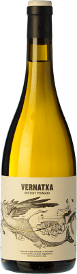 18,95 € Free Shipping | White wine Frisach Vernatxa Blanc Crianza D.O. Terra Alta Catalonia Spain Grenache White Bottle 75 cl
