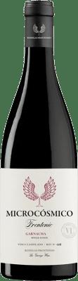 13,95 € Free Shipping | Red wine Frontonio Microcósmico Crianza I.G.P. Vino de la Tierra de Valdejalón Aragon Spain Grenache Bottle 75 cl