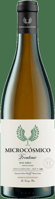 13,95 € Envoi gratuit | Vin blanc Frontonio Microcósmico I.G.P. Vino de la Tierra de Valdejalón Aragon Espagne Macabeo Bouteille 75 cl