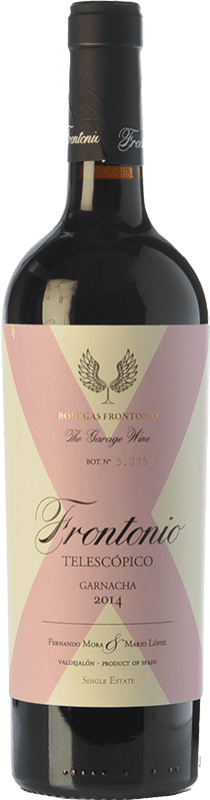 17,95 € Free Shipping | Red wine Frontonio Telescópico Crianza I.G.P. Vino de la Tierra de Valdejalón Aragon Spain Grenache Bottle 75 cl