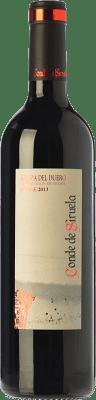 8,95 € Free Shipping | Red wine Frutos Villar Conde Siruela Roble Joven D.O. Ribera del Duero Castilla y León Spain Tempranillo Bottle 75 cl