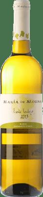 6,95 € Kostenloser Versand | Weißwein Frutos Villar María de Molina Verdejo D.O. Rueda Kastilien und León Spanien Viura, Palomino Fino, Verdejo Flasche 75 cl