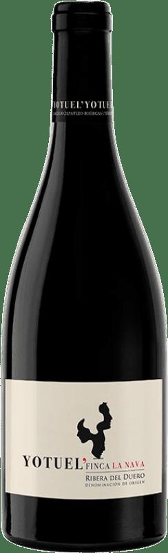 29,95 € Free Shipping   Red wine Gallego Zapatero Yotuel Finca La Nava Crianza D.O. Ribera del Duero Castilla y León Spain Tempranillo Bottle 75 cl