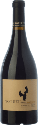 49,95 € Free Shipping   Red wine Gallego Zapatero Yotuel Finca San Miguel Crianza 2008 D.O. Ribera del Duero Castilla y León Spain Tempranillo Bottle 75 cl