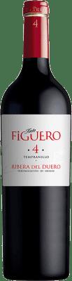 11,95 € Free Shipping | Red wine Figuero 4 Meses Joven D.O. Ribera del Duero Castilla y León Spain Tempranillo Bottle 75 cl