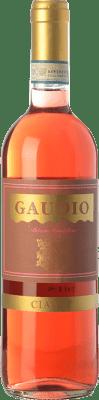 9,95 € Envío gratis | Vino rosado Gaudio Ciaret D.O.C. Monferrato Piemonte Italia Barbera, Freisa Botella 75 cl