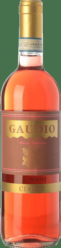 9,95 € Envoi gratuit | Vin rose Gaudio Ciaret D.O.C. Monferrato Piémont Italie Barbera, Freisa Bouteille 75 cl