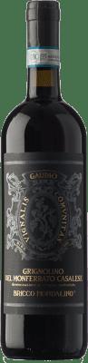14,95 € Envío gratis | Vino tinto Gaudio D.O.C. Grignolino del Monferrato Casalese Piemonte Italia Grignolino Botella 75 cl