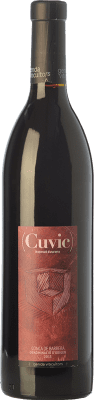 12,95 € Free Shipping | Red wine Gerida Cuvic Crianza D.O. Conca de Barberà Catalonia Spain Tempranillo, Syrah, Cabernet Franc Bottle 75 cl