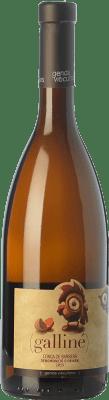 7,95 € Free Shipping | White wine Gerida Galliné D.O. Conca de Barberà Catalonia Spain Parellada, Muscatel Small Grain Bottle 75 cl