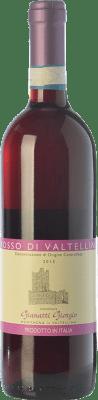 15,95 € Free Shipping | Red wine Gianatti Giorgio D.O.C. Valtellina Rosso Lombardia Italy Nebbiolo Bottle 75 cl