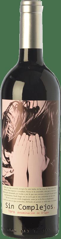 6,95 € Envío gratis | Vino tinto Gil Luna Sin Complejos Joven D.O. Toro Castilla y León España Tempranillo Botella 75 cl