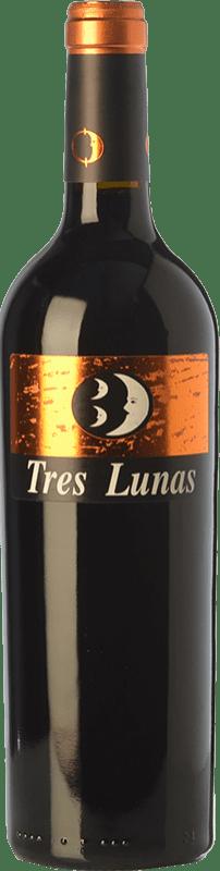 11,95 € Envío gratis | Vino tinto Gil Luna Tres Lunas Crianza D.O. Toro Castilla y León España Tinta de Toro Botella 75 cl
