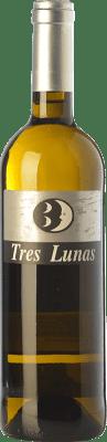 6,95 € Envío gratis | Vino blanco Gil Luna Tres Lunas D.O. Toro Castilla y León España Verdejo Botella 75 cl
