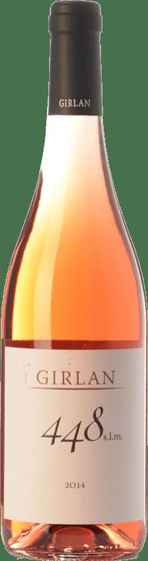 9,95 € Free Shipping | Rosé wine Girlan 448 S.L.M. Rosè I.G.T. Vigneti delle Dolomiti Trentino Italy Pinot Black, Lagrein, Schiava Bottle 75 cl