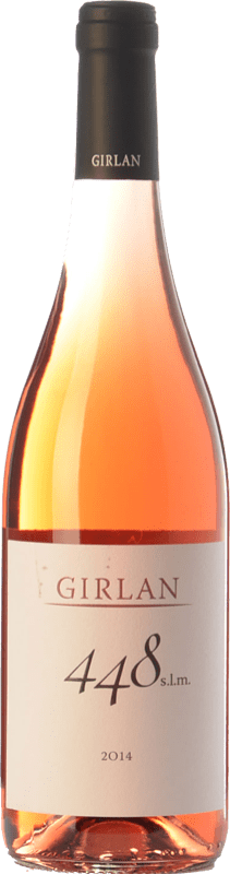 7,95 € Envío gratis | Vino rosado Girlan 448 S.L.M. Rosè I.G.T. Vigneti delle Dolomiti Trentino Italia Pinot Negro, Lagrein, Schiava Botella 75 cl