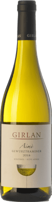 16,95 € Free Shipping | White wine Girlan Aimè D.O.C. Alto Adige Trentino-Alto Adige Italy Gewürztraminer Bottle 75 cl