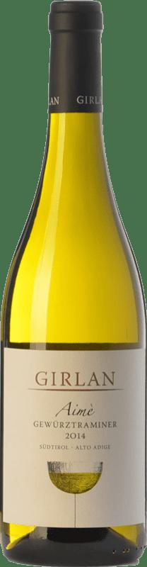18,95 € Free Shipping | White wine Girlan Aimè D.O.C. Alto Adige Trentino-Alto Adige Italy Gewürztraminer Bottle 75 cl