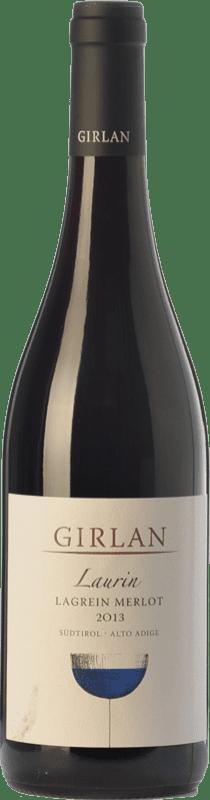 19,95 € Envoi gratuit | Vin rouge Girlan Laurin D.O.C. Alto Adige Trentin-Haut-Adige Italie Merlot, Lagrein Bouteille 75 cl